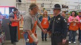Home Depot worker honored by ISP