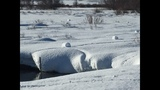 'Snow rollers' at Idaho nature preserve