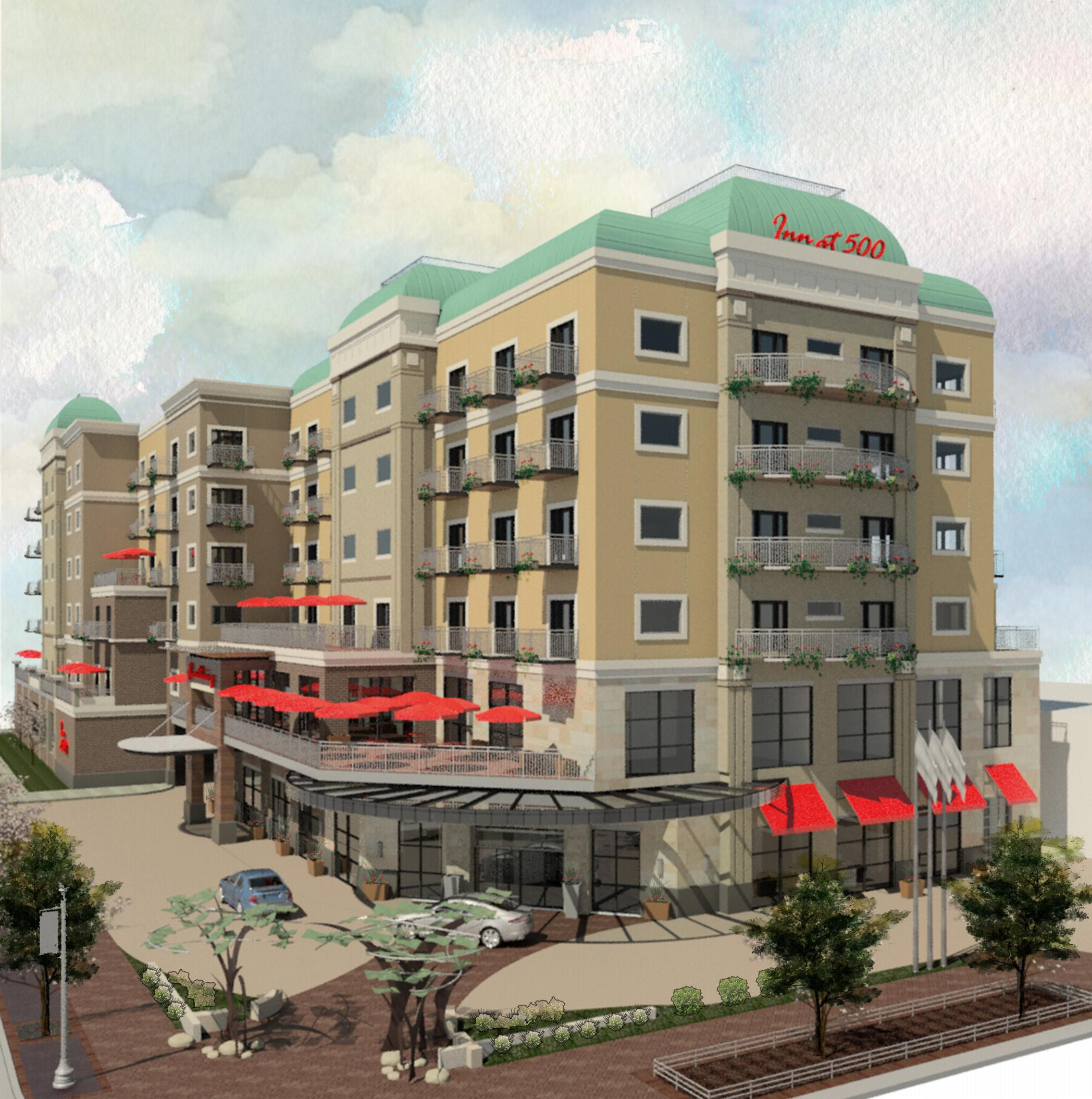 Three New Hotels Under Construction In Downtown Boise