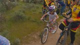 Kid-friendly bike trail