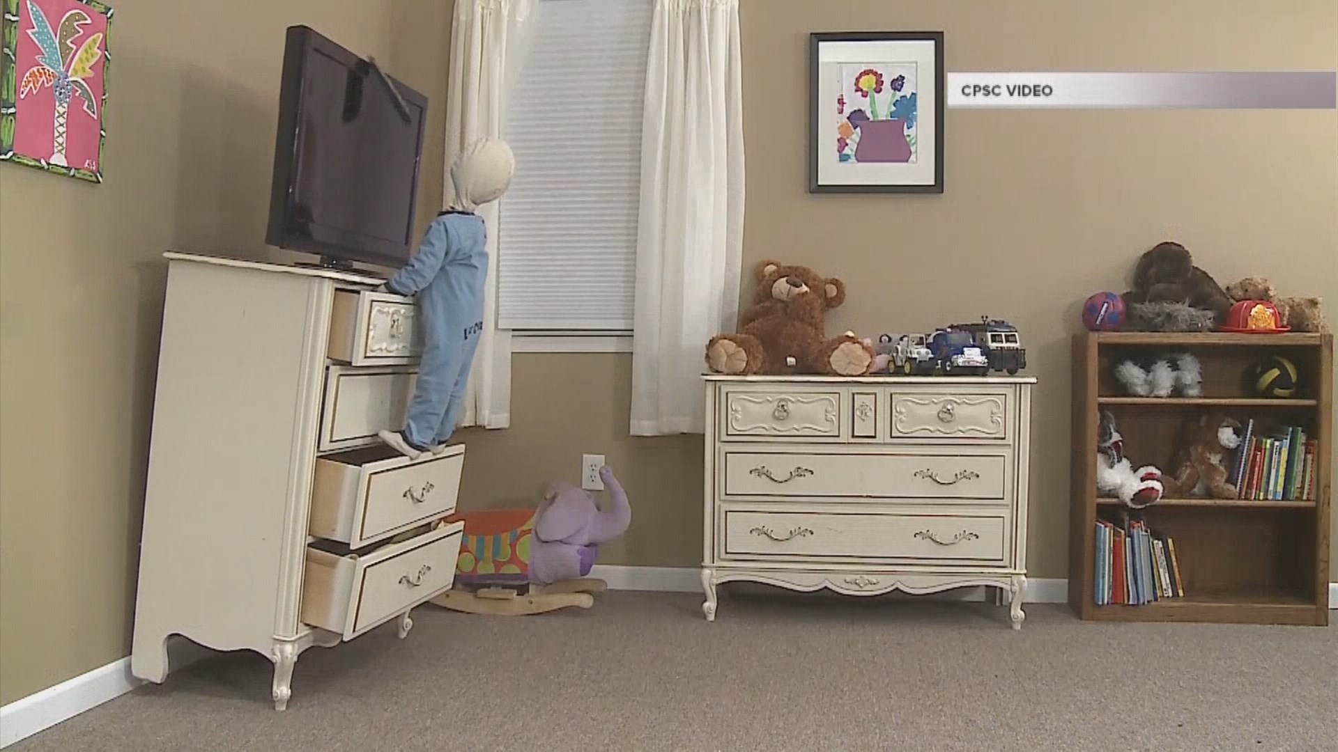 Protecting Your Children From The Dangers In Your Home: Falling Furniture |  KTVB.COM