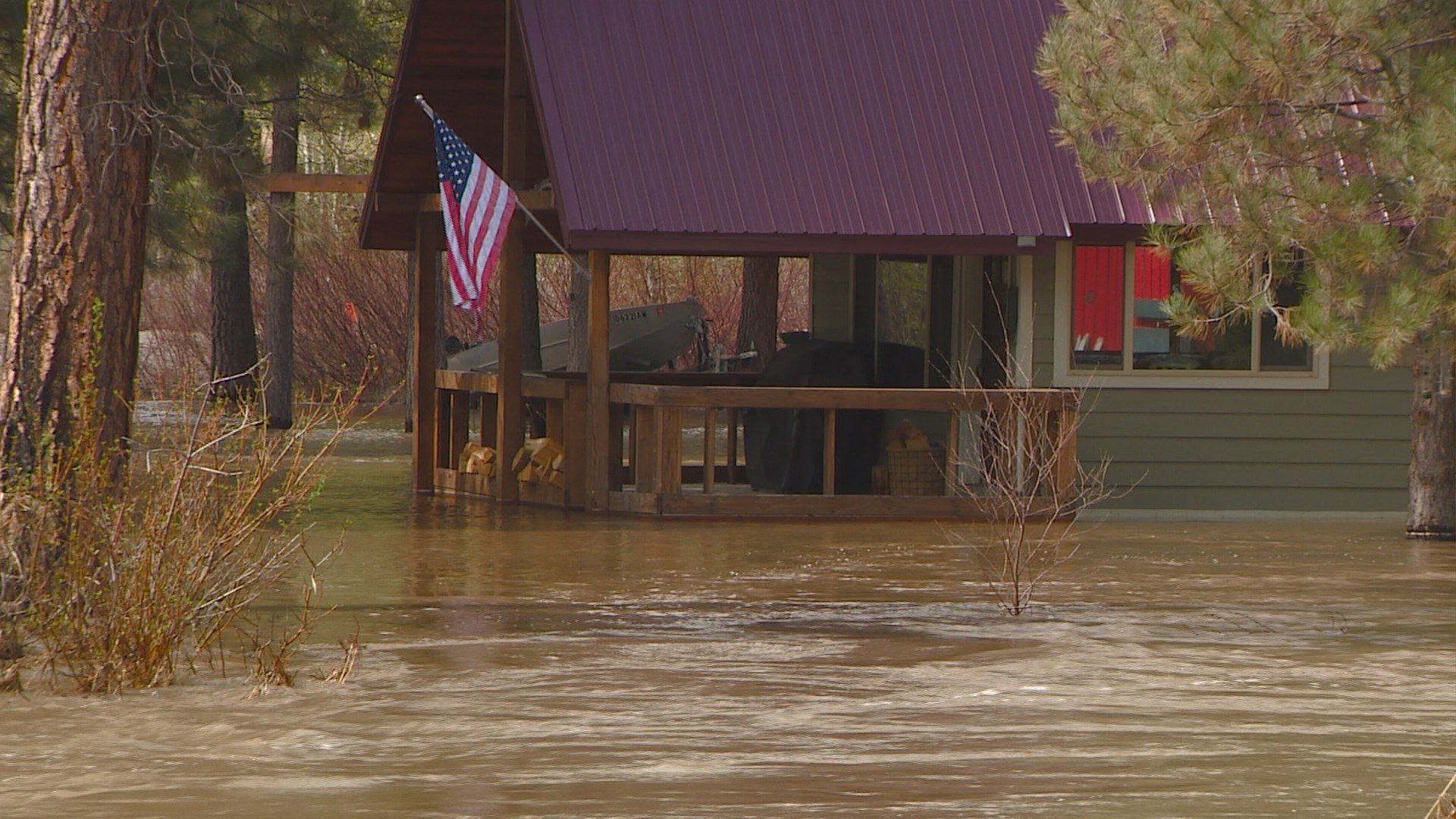 Homes And Campsites In Elmore County Evacuated Due To Flooding