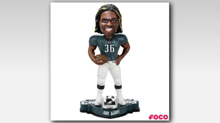 FOCO Jay Ajayi Boise State Broncos Name and Number Bobblehead NCAA