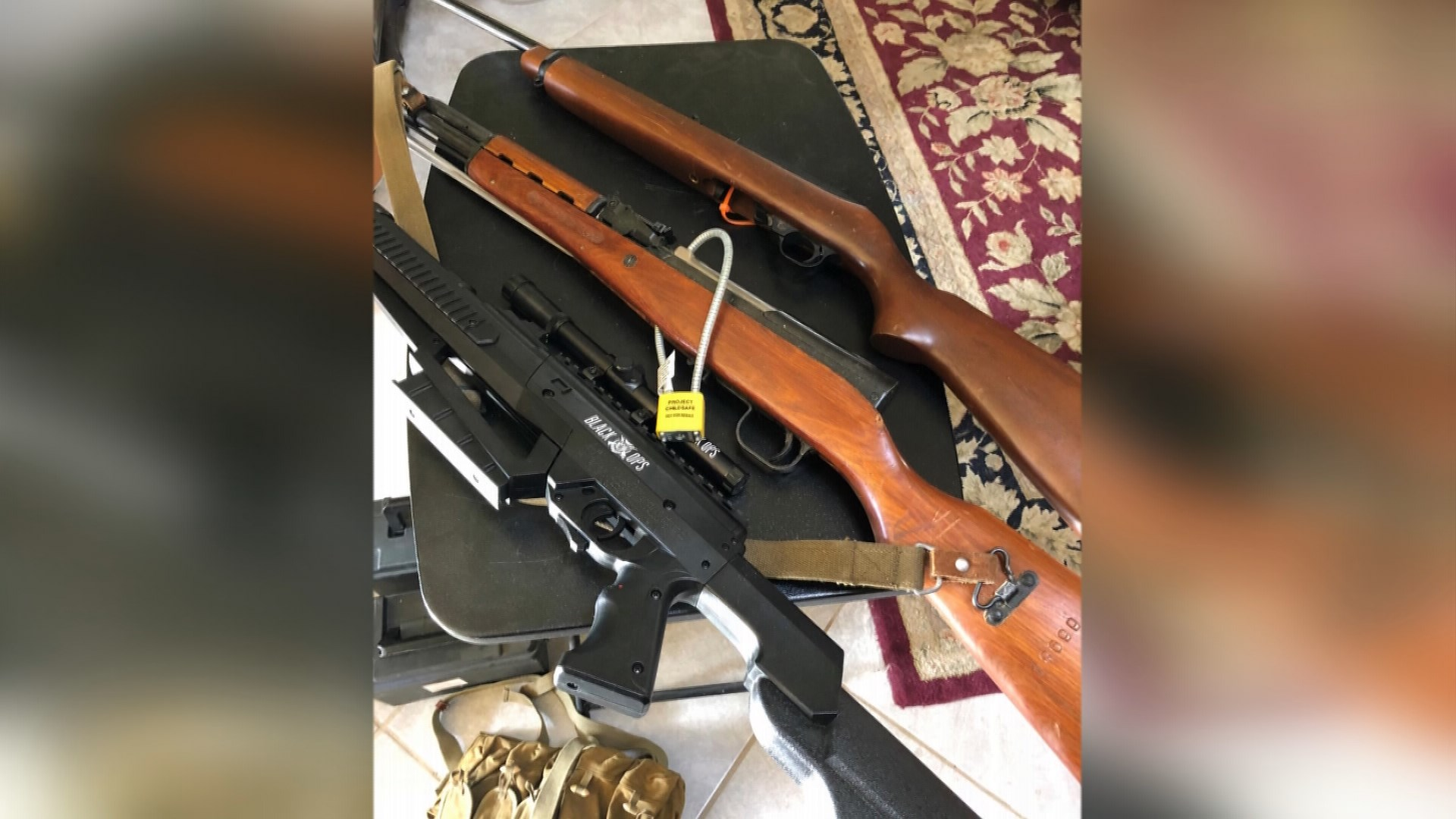 Boise man turns in guns to police, challenges others to do the same